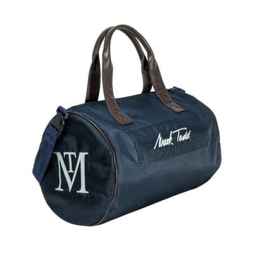Mark Todd Padded Pro Luggage Ring Bag Navy & Chocolate